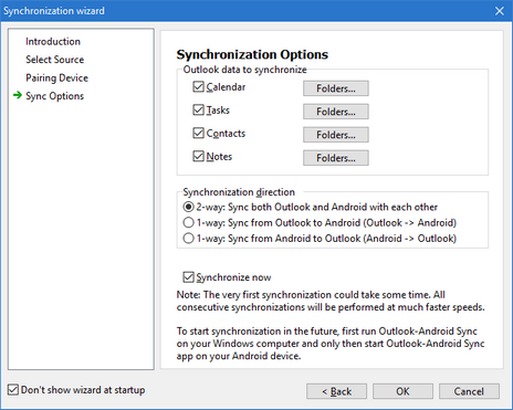 Outlook-Android Sync Help